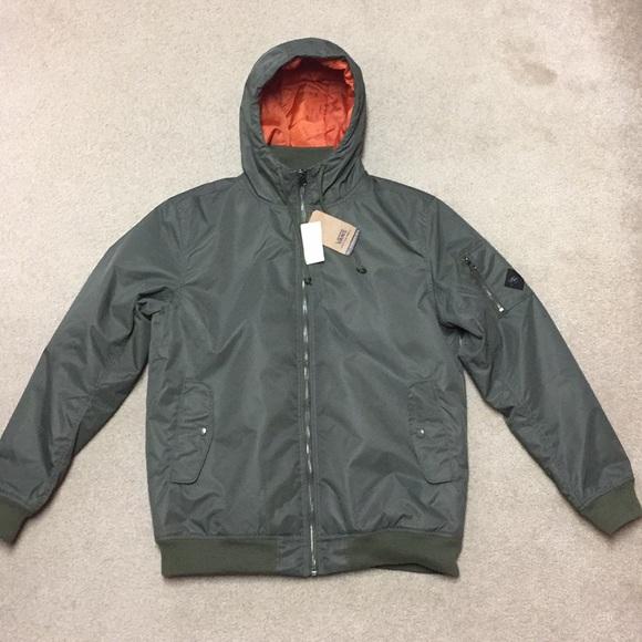 70627d7f37abc0 Men s hooded bomber jacket.